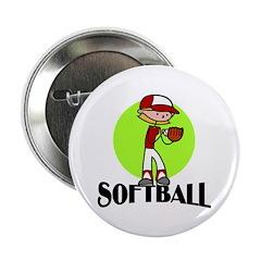 Softball Button