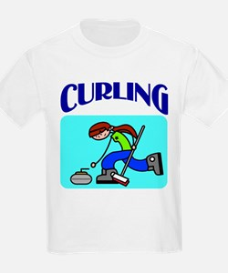 Curling Kids T-Shirt