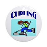 Curling Ornament (Round)