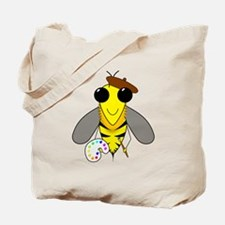 Painter Bee Tote Bag