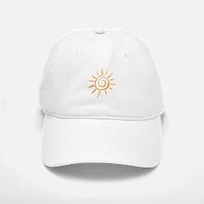 Spiral Sun Baseball Baseball Baseball Cap