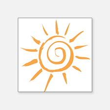 Spiral Sun Sticker