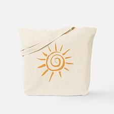 Spiral Sun Tote Bag