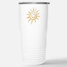 Spiral Sun Travel Mug