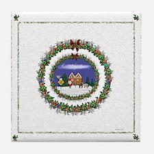 Beautiful Christmas Tile Coaster