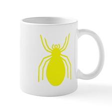 Yellow Spider Small Mug