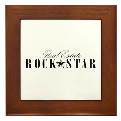 RE Rock Star Framed Tile