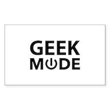 Geek Mode Decal