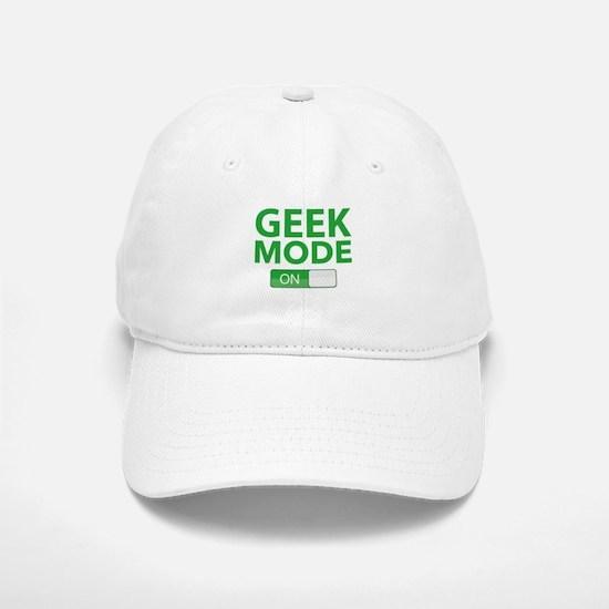 Geek Mode Baseball Baseball Cap
