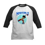 Shotput Kids Baseball Jersey