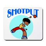 Shotput Mousepad