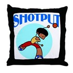 Shotput Throw Pillow