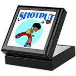 Shotput Keepsake Box
