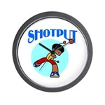 Shotput Wall Clock