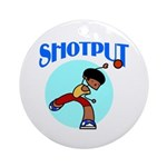 Shotput Ornament (Round)