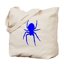 Blue Spider Tote Bag