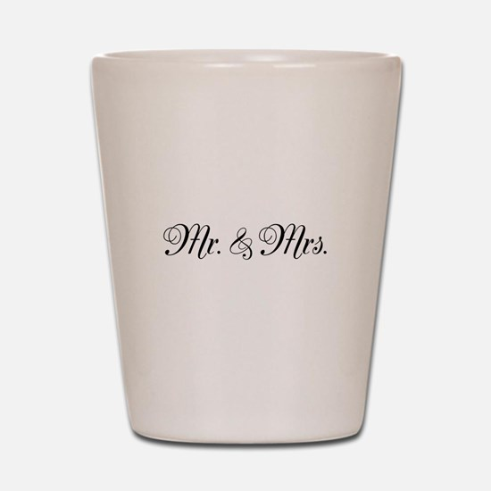 Mr. Mrs. Shot Glass