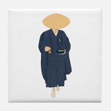 Buddhist Monk Tile Coaster