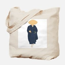 Buddhist Monk Tote Bag