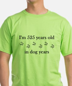 75 birthday dog years 4-1 T-Shirt