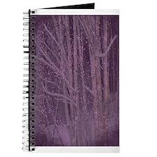 Purple Winter Trees Journal