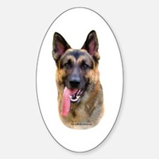 GSD 4 Oval Decal