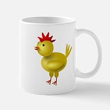 3D Chicken Small Mug