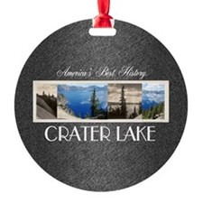 Crater Lake Americasbesthistory.com Ornament
