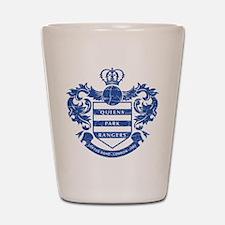Queens Park Rangers Crest Shot Glass