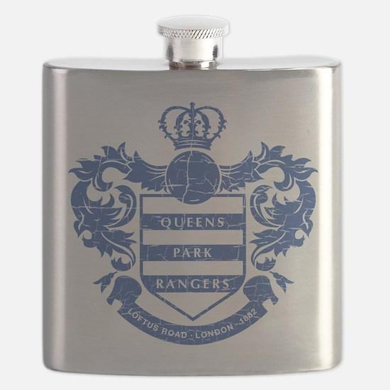 Queens Park Rangers Crest Flask