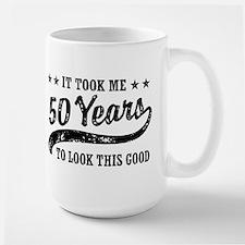 Funny 50th Birthday Large Mug