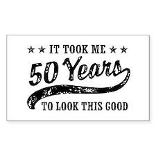 Funny 50th Birthday Decal
