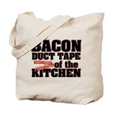 Bacon - Duct Tape Tote Bag