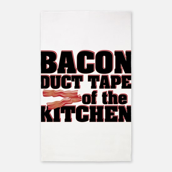 Bacon - Duct Tape 3'x5' Area Rug
