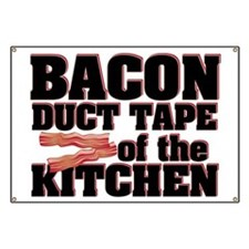 Bacon - Duct Tape Banner