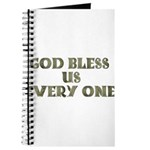 God Bless Us Every One! Journal