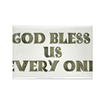 God Bless Us Every One! Rectangle Magnet (10 pack)