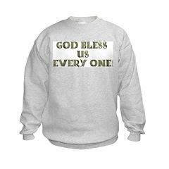 God Bless Us Every One! Sweatshirt