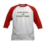 God Bless Us Every One! (2-sided) Kids Baseball Je