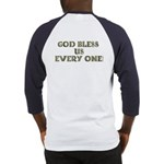 God Bless Us Every One! (BackDesign) Baseball Jers