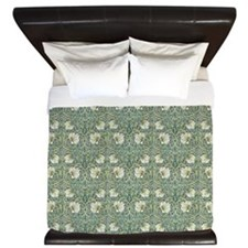 Morris Pimpernel with Repeats King Duvet