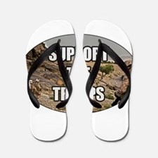 Support The Troops - Army Flip Flops