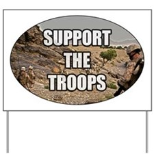 Support The Troops - Army Yard Sign