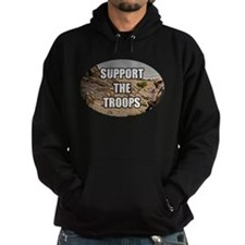 Support The Troops - Army Hoodie