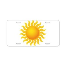 Sun - Sunny - Summer Aluminum License Plate