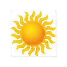 Sun - Sunny - Summer Sticker