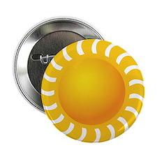 """Sun - Sunny - Summer 2.25"""" Button"""