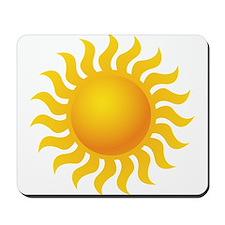 Sun - Sunny - Summer Mousepad