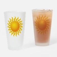 Sun - Sunny - Summer Drinking Glass