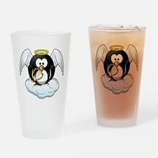 Angel Penguin Drinking Glass